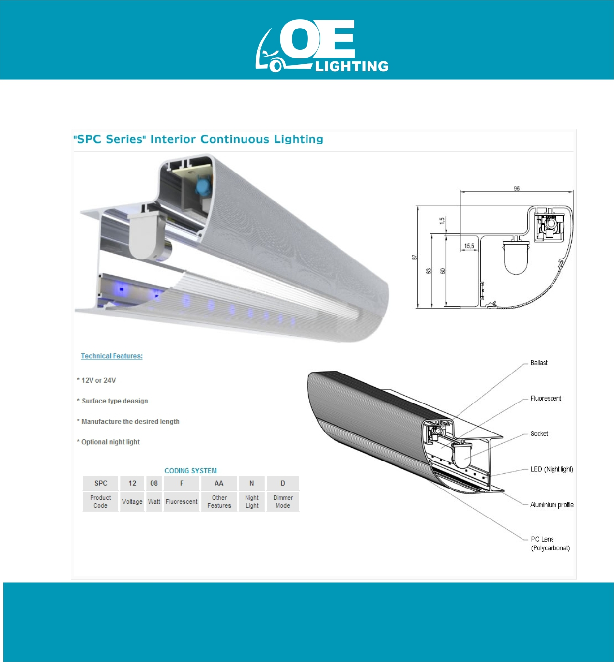 OE lighting 13