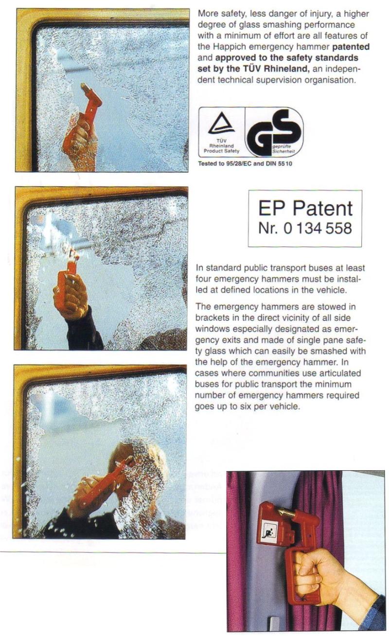 happich emergency hammer patent